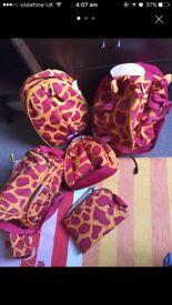 Sammy by Samsonite giraffe 4 piece luggage set