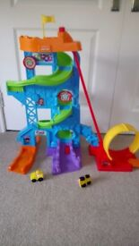 Fisher price loops and swoops amusement park