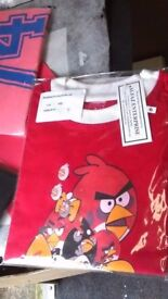 branded boys t shirts like cars angry bird football superman and many more costumes clothes