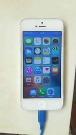 IPhone 5 any network silver white