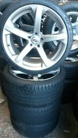 "19"" JADE R CONCAVE WHEELS / TYRES - AUDI / VW / T4"