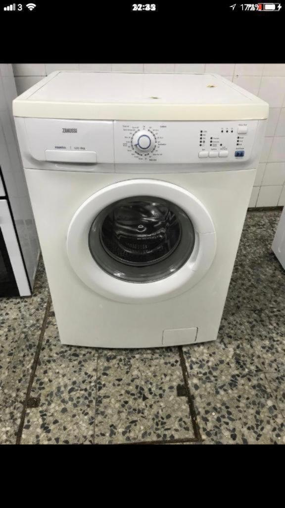 Zanussi washing machine 6kg 1200rpm A+ 4 month warranty free delivery and installation thanks 🙏