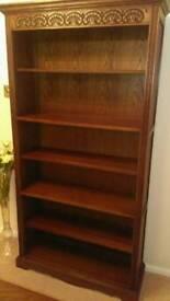 Medium Oak Old Charm Bookcase