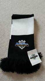 ALAN SHEARER TESTIMONIAL SCARF FROM 2006 WITH TAGS