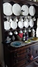 Old Mahogany Dining Dresser for sale.