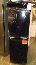 HOTPOINT black fridge freezer new ex display which may have minor marks or blemishes