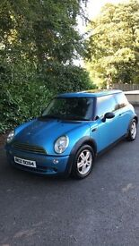 2005 MINI ONE 1.6 **FULL YEAR MOT**