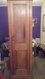 Beautiful Tall Pine Cupboard - Good condition