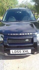 Landrover Freelander 4 x 4 XEI Black , 5 door , Tinted windows , 1 years MOT