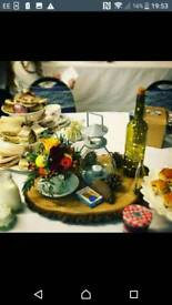 15 grey table lanterns wedding/party