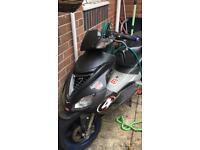 Aprilia sr 50 with 70 kit moped