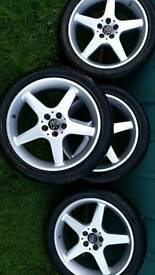 Volkswagen beetle alloys wheels