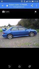 Subaru impreza turbo p1 colur