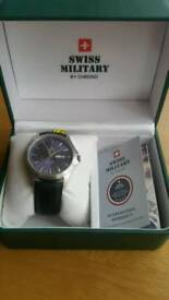 Brand new and Unused Swiss Military by Chrono Watch.