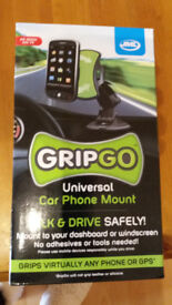 Brand New GRIPGO car phone mount