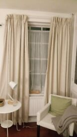 2 sets of curtains
