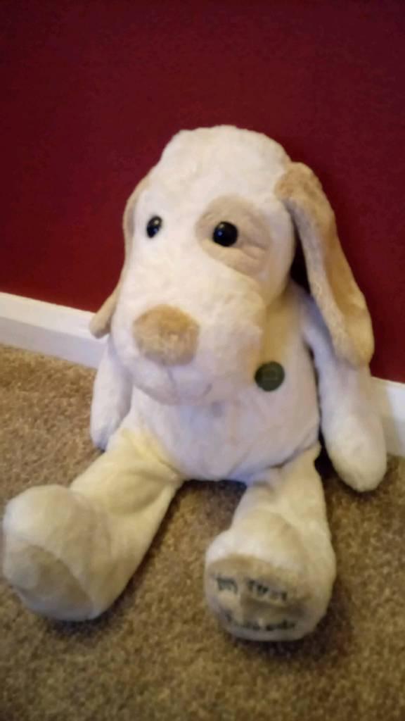 Harrods plush soft toy dog