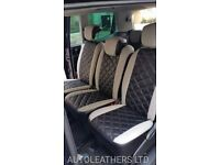 MINICAB/PCO CAR LEATHER SEAT COVERS TOYOTA AVENSIS FORD GALAXY VAUXHALL ZAFIRA SEAT ALHAMBRA BMW