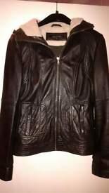Next ladies leather jacket size 8