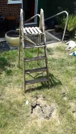 Vintage/retro ladder