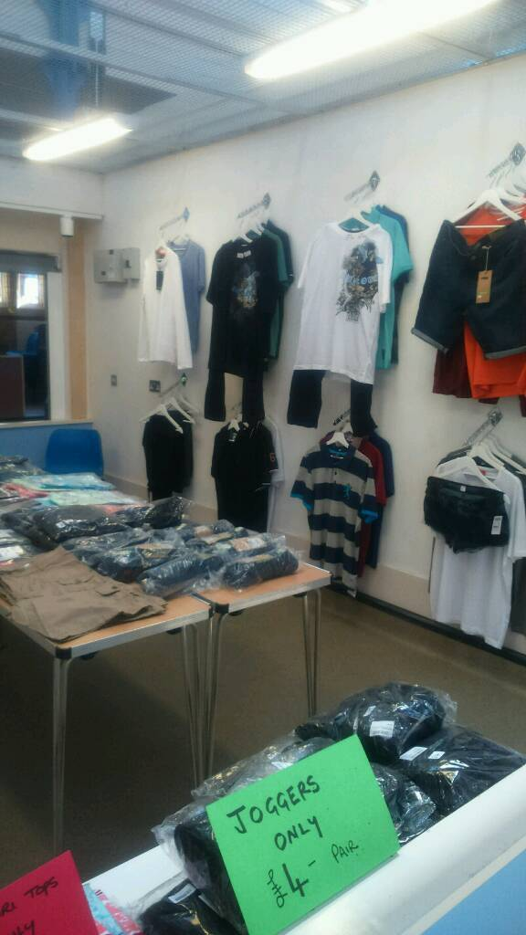 HALF PRICE NEW CLOTHINGin Griffithstown, Torfaen - NEW branded and high street clothing sold at genuine bargain prices at ABC authentic branded clothing pontypool indoor market 6 days pw money/sat multitude of other stalls to visit too come and pay a visit, nice friendly atmosphere with nice happy...
