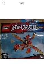 LEGO 30422 Kai's Mini Dragon Polybag with Minifig