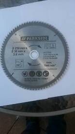 Parkside wood cutting blade