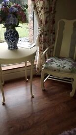 Large oak chair