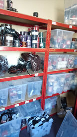 Leather Cord Business Stock For Sale Including Shelves and Boxes RRP £226,000.00