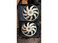 Valeo radiator fan