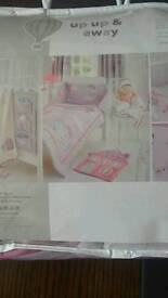 New bedding for a crib or bassinet new..