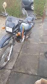 Dirt bike - garage find sold as seen
