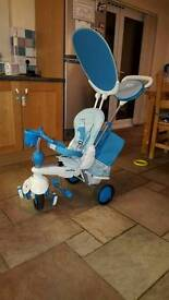 Smart Trike Splash - Blue 5 in 1 Bascially New and still have the tags on it