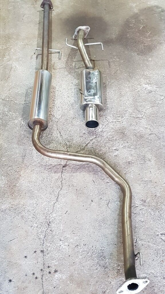 Honda Civic stainless exhaust