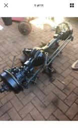 Classic Land Rover front axle