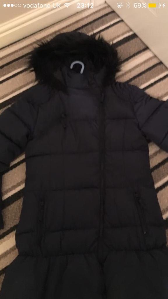 Girls Next Navy Coat