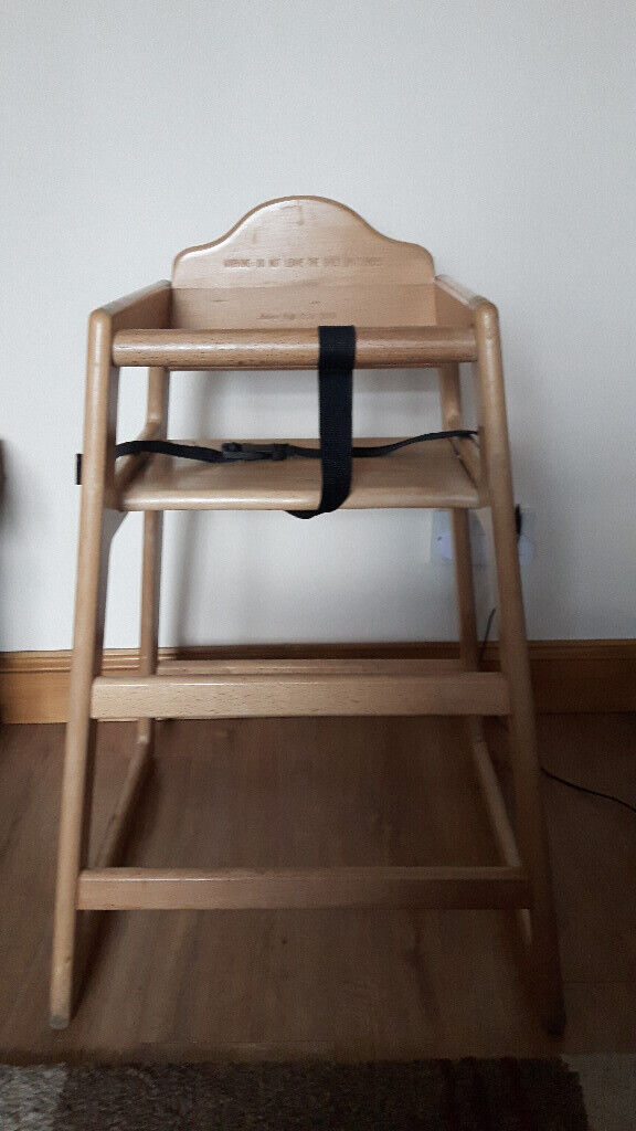 Traditional Wooden High Chair In Leeds West Yorkshire Gumtree