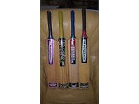 Cricket Bats - MRF, Hero Honda, Reebok. Youth Size 6. Lots Available