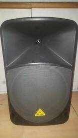 2 x Bellinger euro live b115mp3 1000w active speaker