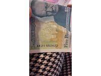 Ak21 5 ponds note