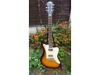 Hofner HE-179 evaluation model. electric guitar. very rare. jazzmaster / jaguar offset style body.