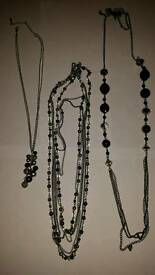 Black and Silver Fashion Jewellery