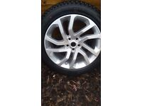 "2016 NEAR BRAND NEW HSE 5 LANDMARK GENUINE LAND RANGE ROVER DISCOVERY 3/4 ALLOY WHEELS 20"" STYLE 511"