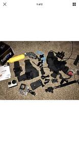 GoPro HERO4 Camcorder - Silver With Accessories