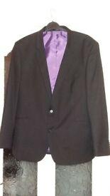 mens black suit jacket