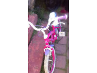 Very good 16 POLLY bike in LIVERPOOL ideal for 5-7 years old girl as birthday or Christmas present