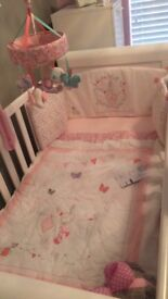 Mothercare my little garden cot bedding