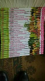 Cook books 27 in total