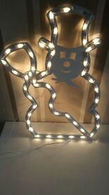 Christmas snowman light