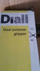 62 Multi use carpet grippers in box